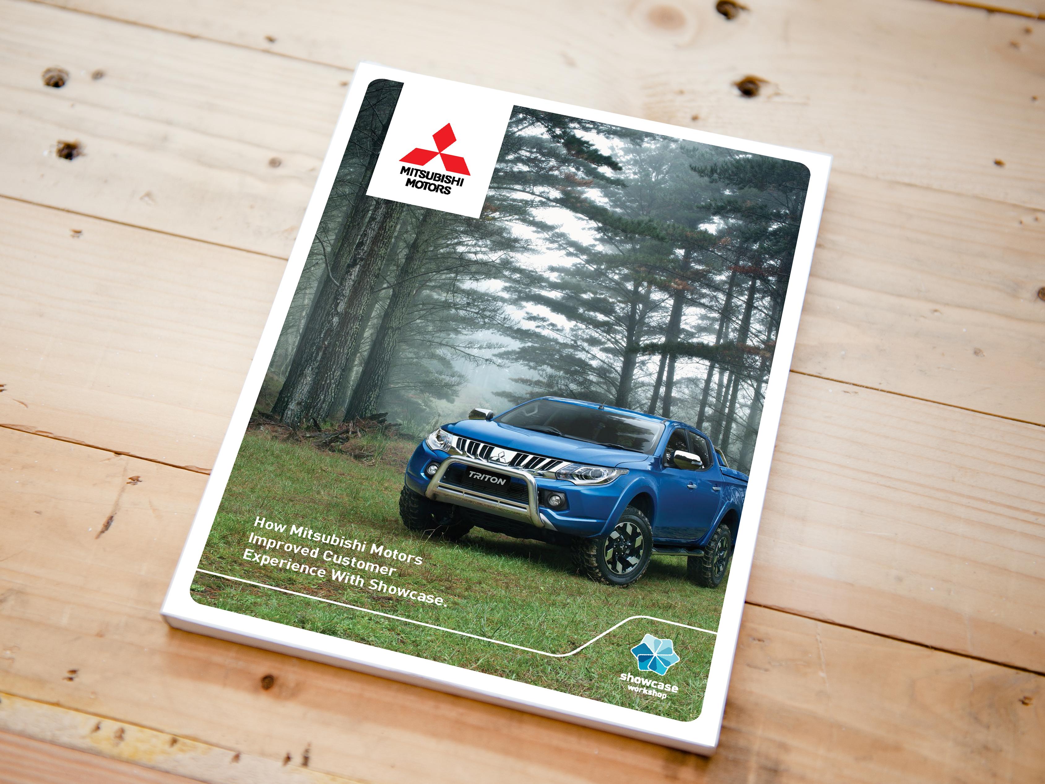 Mitsubishi motors showcase workshop customer case study for Mitsubishi motors customer service
